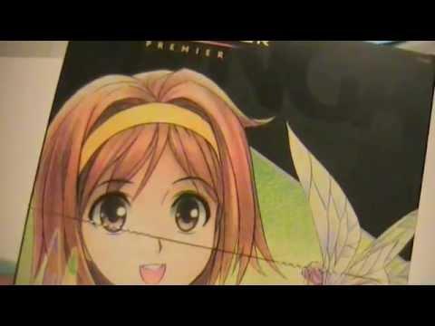 23 Prismacolor Premier Manga Colored Pencils Youtube
