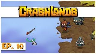Crashlands - Ep. 10 - Fishing for Batteries! - Let's Play Crashlands Gameplay