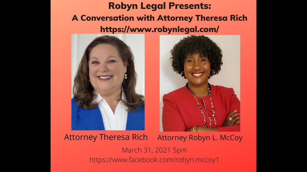 Robyn Legal Presents: A Conversation with Estate Planning Atty Theresa Rich.