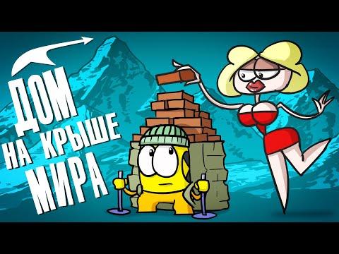 Доктор Гнус : Строим дом на крыше мира ( Анимация )