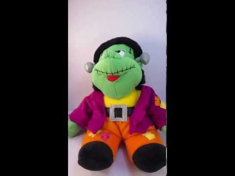 MTY Singing Moving Frankenstein Plush Toy Halloween Sings Monster Mash