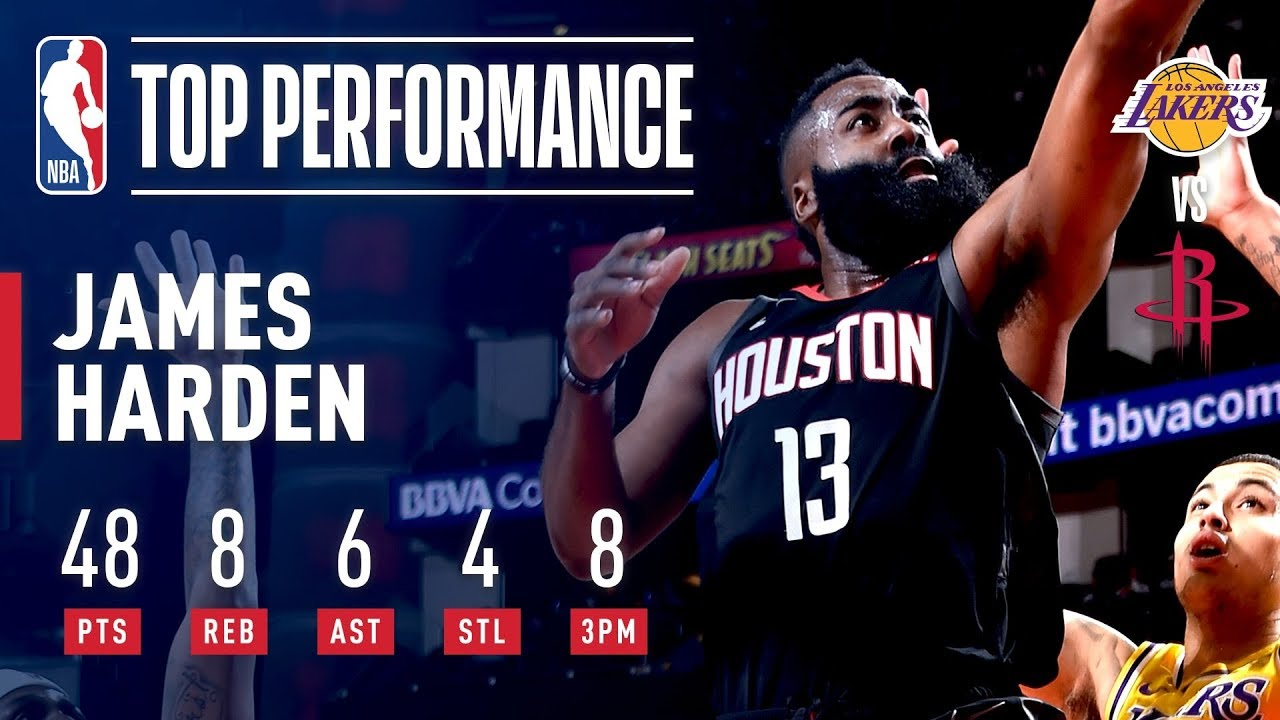 Harden Continues His Scorching Play With HUGE Performance vs Lakers | January 19, 2019