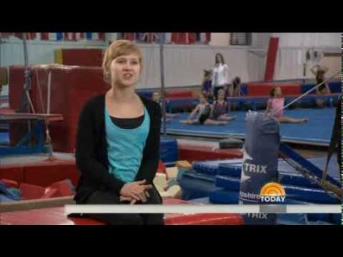 Amputee Gymnast Is Back On Mat Cancer Free Youtube