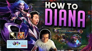 Shiphtur   THE LEGENDARY POP OFF GAME!!!   DIANA MID