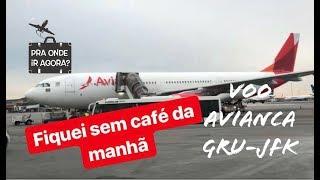 Voo Avianca GRU-JFK | Classe Econômica