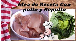 Receta saludable con Pollo. Recetas de cocina fácil y Rápido