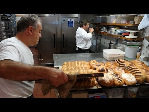 Heat Of The Master Bakers Bakery - Baking 100's Of Breads At 6:00am In The Morning At Camden Bakery.