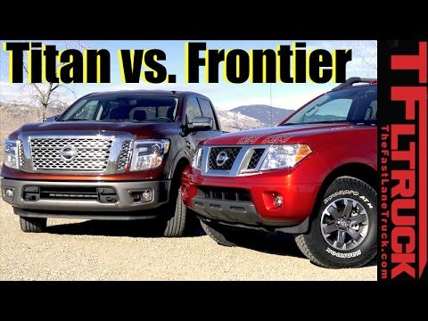 2017 nissan titan vs frontier midsize vs half ton 0 60. Black Bedroom Furniture Sets. Home Design Ideas