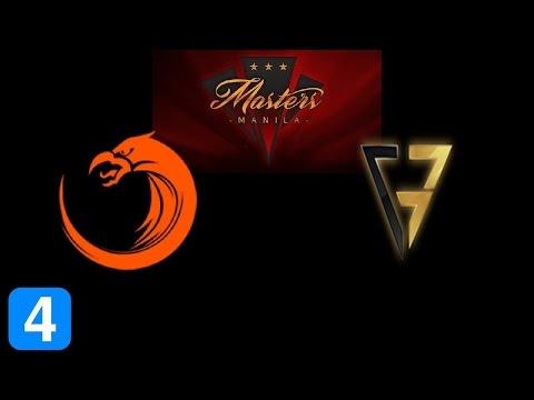 TNC vs Clutch Gamers Game 4  Masters Manila 2017 Highlights Dota 2