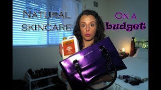 Natural Skincare on a Budget! CHEAP Inexpensive Healthy Beauty Products and What I use