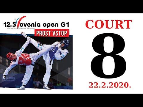 12th Slovenia Open G1 2020. - DAY 1 – COURT 8