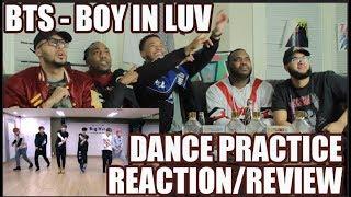 방탄소년단 '상남자(BOY IN LUV)' DANCE PRACTICE REACTION/REVIEW