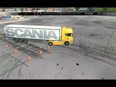 How To Parallel Park a Big Rig - YouTube
