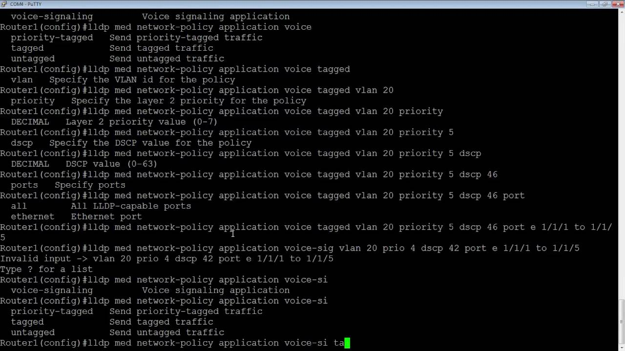 CONFIGURING A BROCADE ICX SWITCH WITH IP PHONES LLDP MED
