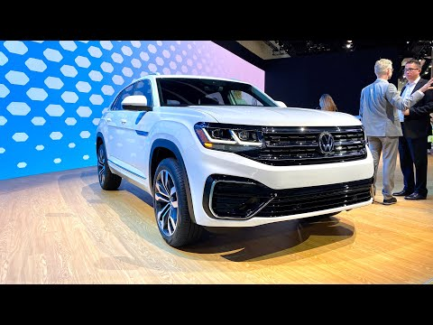 2021 Volkswagen Atlas Cross Sport First Look (No Talking)