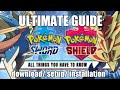 How to download & play pokemon Sword and Shield version on pc (installation/setup guide) ( yuzu ) HD