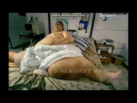 Сенсация!! Самый толстый человек в мире весом 560 кг!! Смотреть всем.