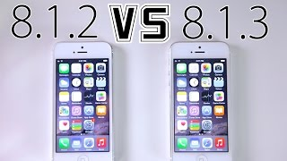 iOS 8.1.2 VS iOS 8.1.3 - Faster? WiFi Fixed? + What