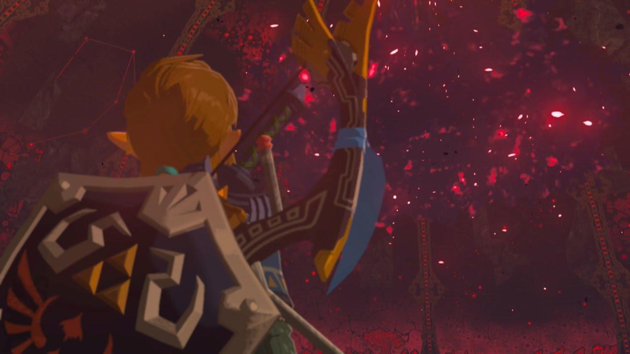 Final Battle Calamity Ganon The Legend Of Zelda Breath Of The Wild