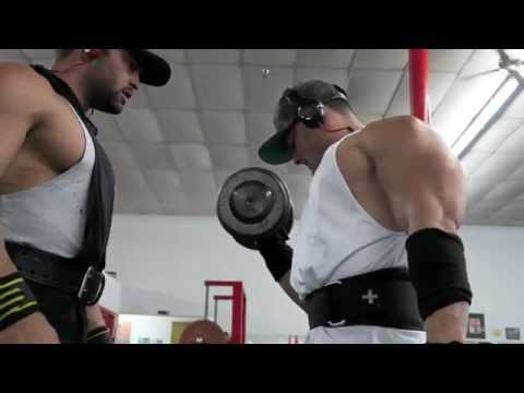 Mr O Physique 2014 and 4x IFBB champ Diabeast workout Arms