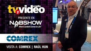 Visita a Comrex durante NabShow 2019