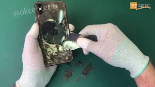 Замена заднего стекла Айфон 10 ЛАЗЕРОМ - IPHONE X / LASER COVER REPLACEMENT WITHOUT DISASSEMBLY