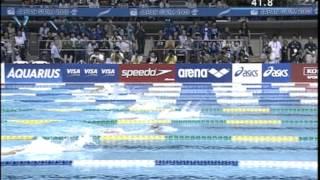 100m平泳ぎ 日本水泳選手権2005 決勝 北島康介