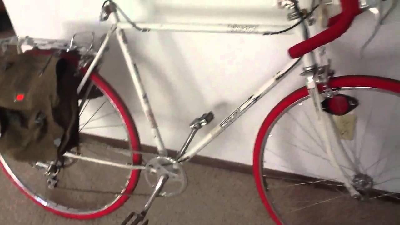 Vista Esquire Vintage 10 Speed Commuter Bike Project Youtube
