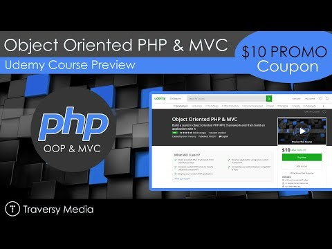 Udemy Course Alert & Promo Link - OOP PHP & MVC