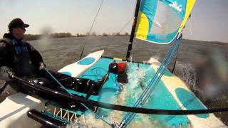 Slow Motion - Crashed Sailing Creve Coeur Lake, MO