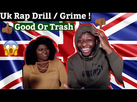AMERICAN RAPPER REACTS TO UK RAP GRIME/DRILL