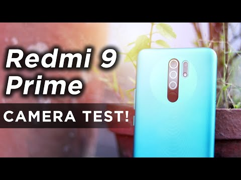 Redmi 9 Prime CAMERA TEST With Video Samples | HINDI