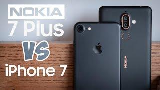 So sánh chi tiết iPhone 7 và Nokia 7 Plus