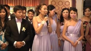 Тосты друзей!! Свадьба Алибек и Ырысты