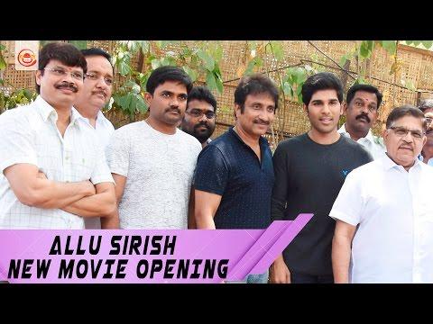 Grand Opening Of Allu Sirish Upcoming Movie Shoot - #allusirish