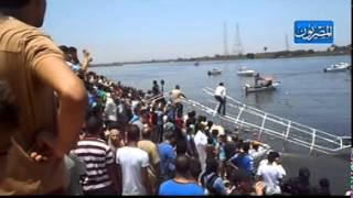 لليوم الثاني الانقاذ النهري والسطحات المائية ينتشلون جثث الضحايا