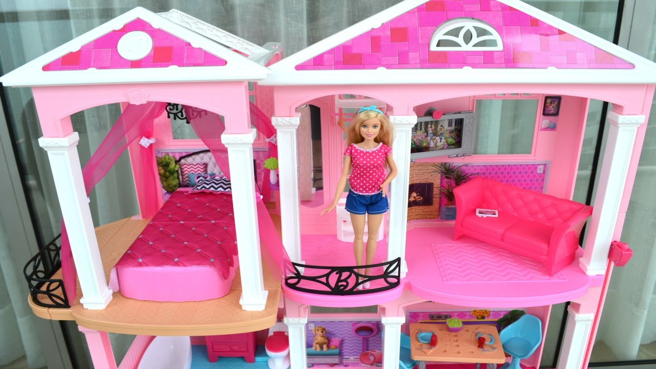 Casa da barbie nova lancamento 2016 open box em - Supercasa de barbie ...