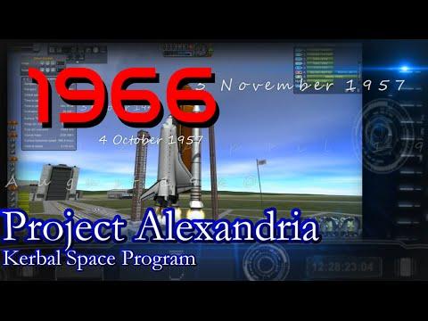 1966 History of Spaceflight in RSS / Project Alexandria-13 / KSP 1.0.4