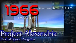 1966 History of Spaceflight in RSS / Project Alexandria-13 / KSP 1.0.4