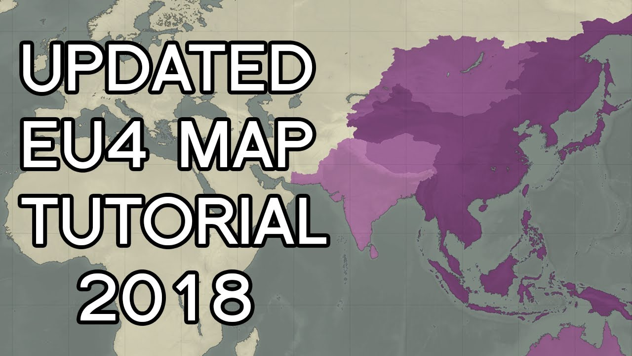 EU4 - Updated Map Tutorial! [2018]