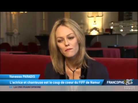 VANESSA PARADIS - Interview TV5 - FIFF 2015