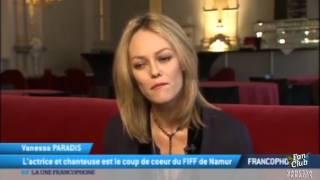 VANESSA PARADIS - Interview TV5 - FIFF 2015