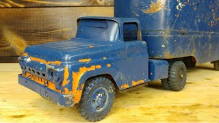 1950's Tonka Allied Moving Truck Restoration