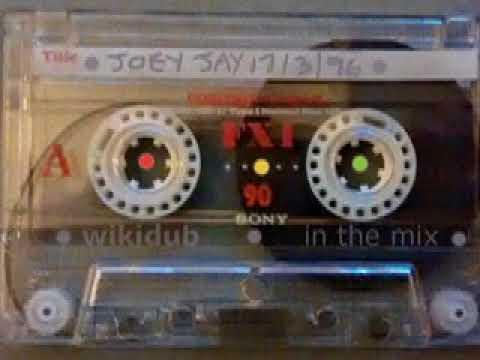 Joey Jay • reggae roots dub 17/3/96 Kiss 100FM wikidub