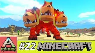 PIXARK - Minecraft Ark #22 - Taming Felhunter - Cách Bắt Sói 3 Đầu Felhunter