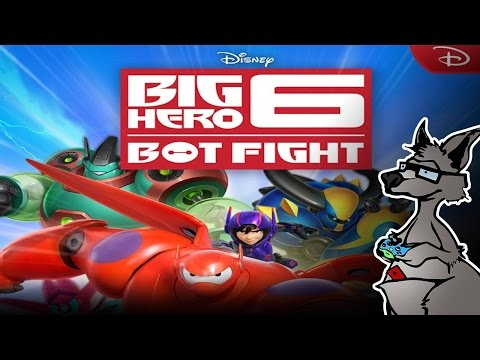 Operação Big Hero Bot Fight ( Gameplay / Review / Análise ) ( iOS / Android / Windows Phone )