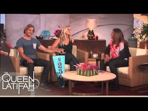 Bethany Hamilton On Being Partners On/Off the Race | The Queen Latifah Show