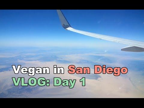Vlog: Vegan in San Diego, Day 1