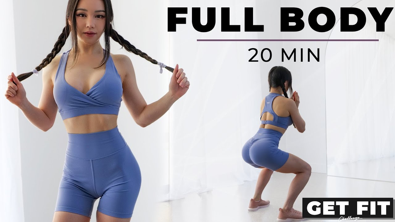 20 Min Full Body Workout to Get Fit | with or without Weights