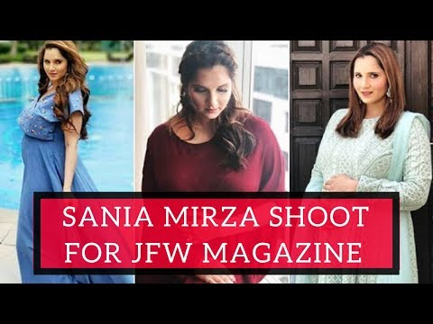 Sania Mirza Latest Photoshoot for MJW Cover Photo | Shoaib Malik, Sania Mirza
